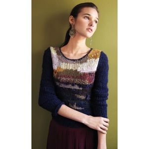 Anthropologie || Far Away From Close Knit Sweater